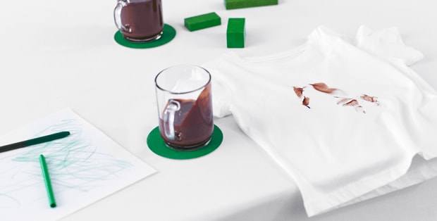 How to remove hot chocolate stains