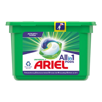 Ariel All in 1 PODS Universal, Color und Universal Plus Extra