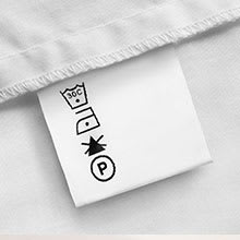 3. Check the baby clothes' fabric care label