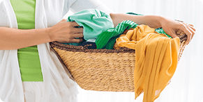 How to sort laundry before wash