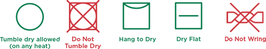 Drying-icons