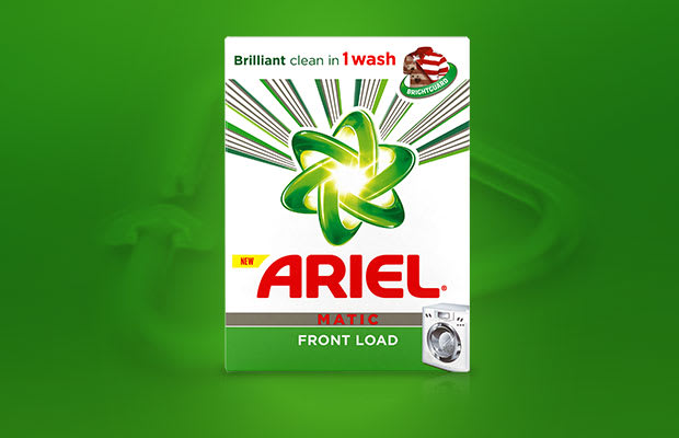 Ariel Matic Front Load Laundry Powder Detergents