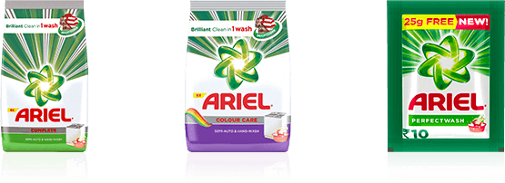 Which Ariel detergent should you choose for hand washing
