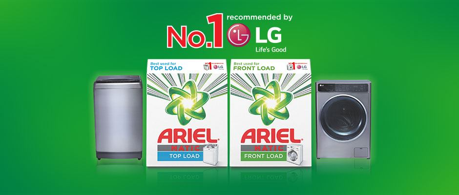 No. 1 recommended by LG
