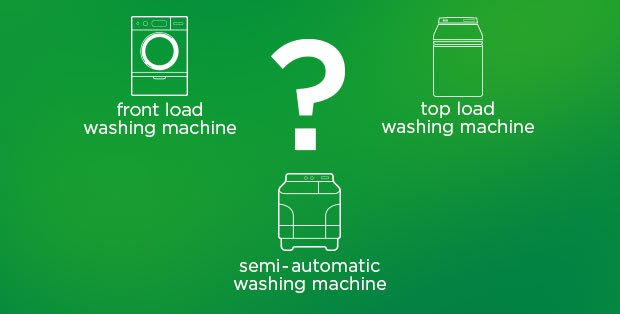 Choosing a washing machine? – top-load or front-load and semi-automatic or fully-automatic - Ariel