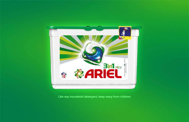Ariel 3in1 PODS washing capsule
