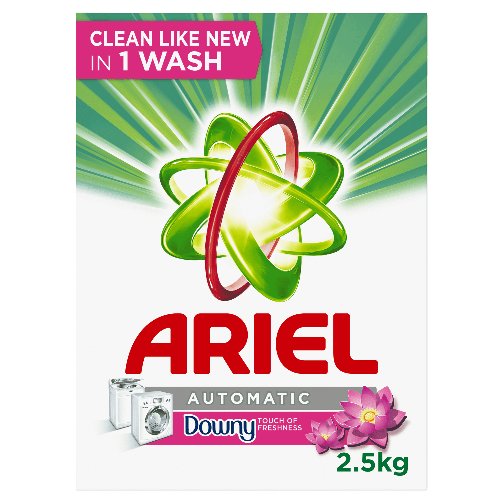 Ariel Automatic Powder Detergent,Touch of Freshness Downy