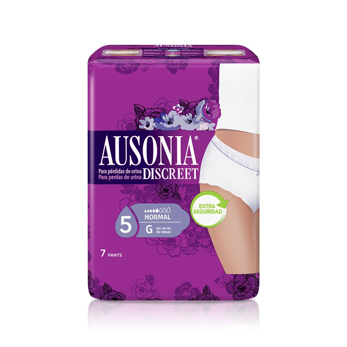 AUSONIA DISCREET Braguitas Pants Normal G