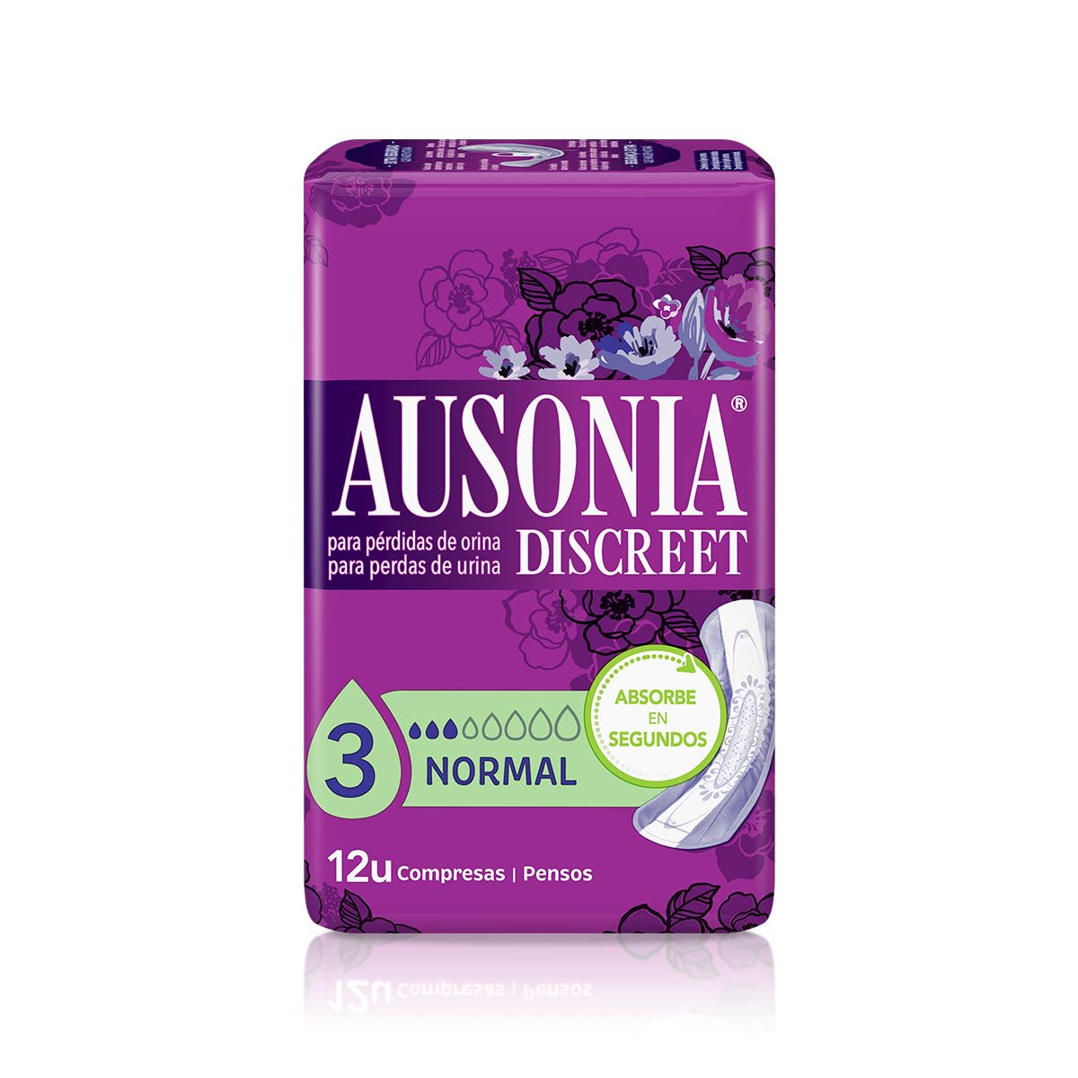 AUSONIA DISCREET Compresas Normal