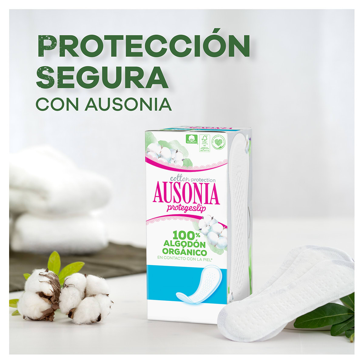 AUSONIA Cotton Protection Protegeslips