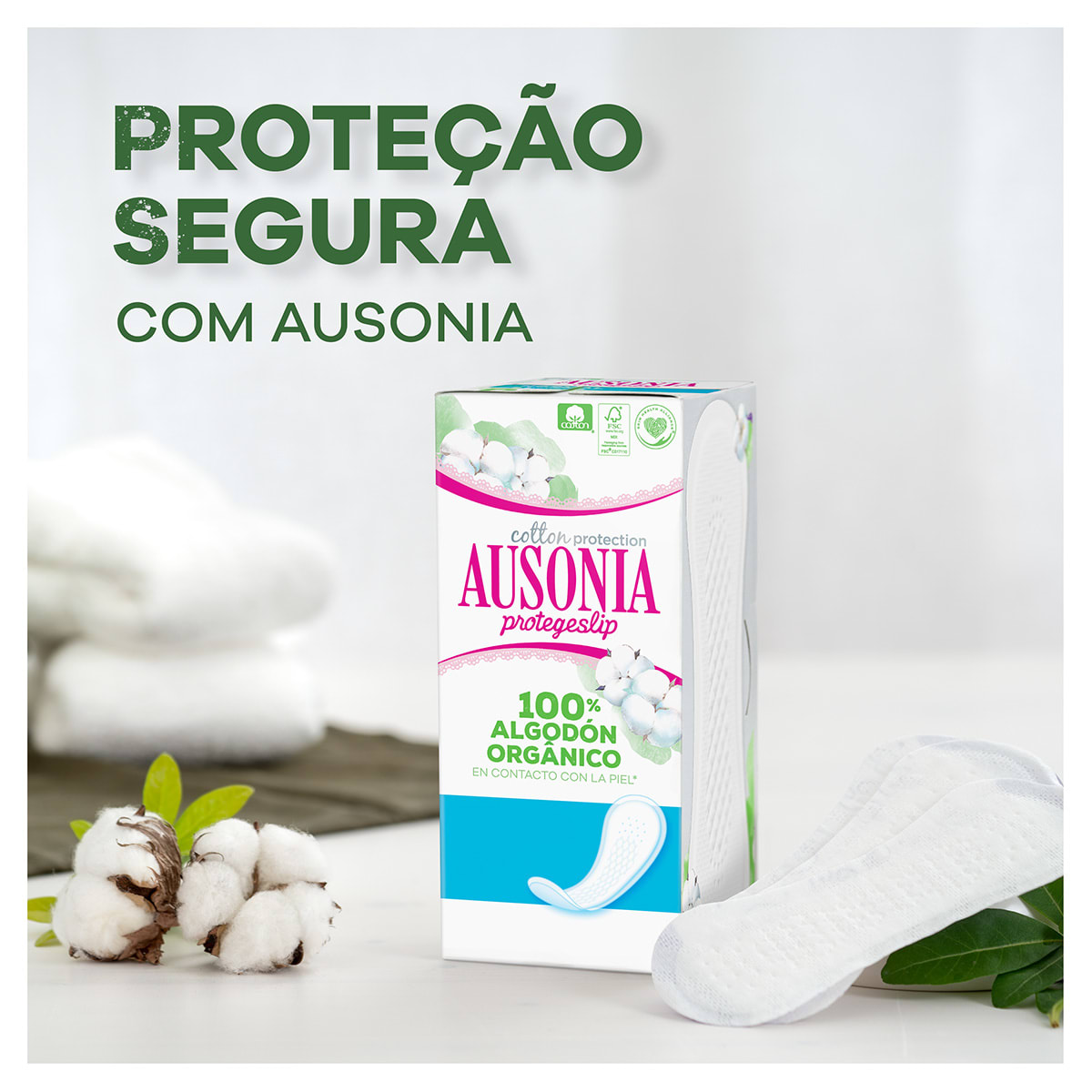 AUSONIA Cotton Protection Liners