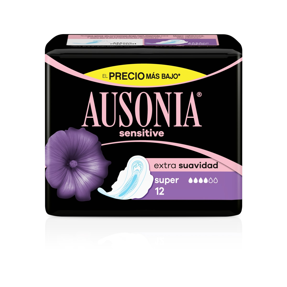 AUSONIA Pensos Higiénicos Sensitive Super