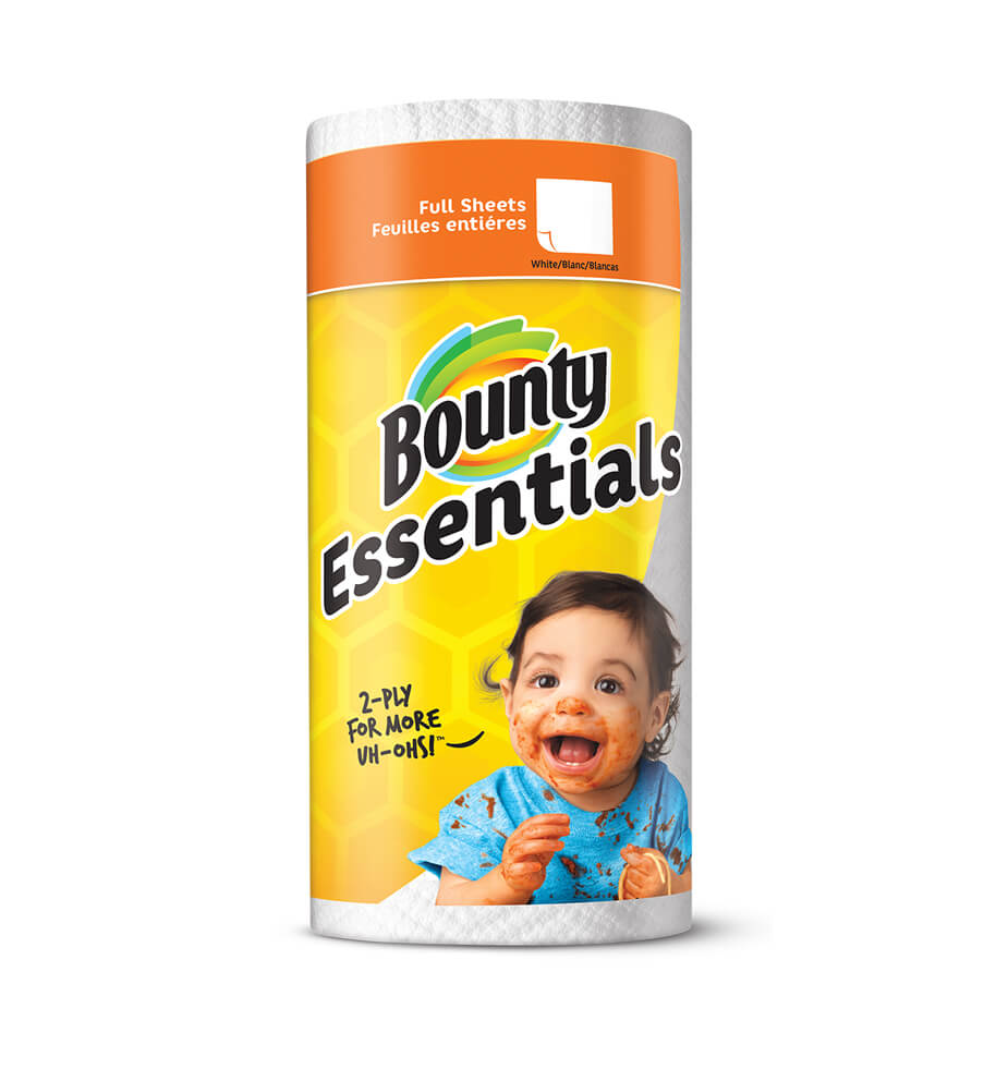 Bounty Essentials Full Size Paper Towels