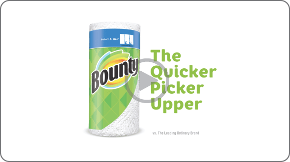 """Bounty """"More Life Per Roll"""" Commercial"""
