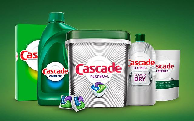 Coupons And Offers Cascade Detergent