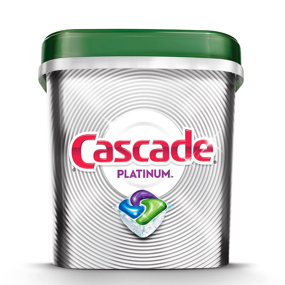 Cascade Platinum ActionPacs Dishwasher Detergent, Fresh Scent