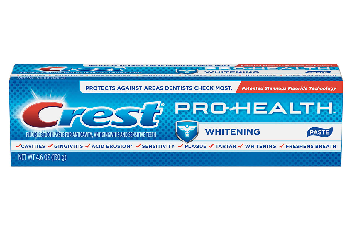 Crest Pro Health Whitening Power Toothpaste Crest