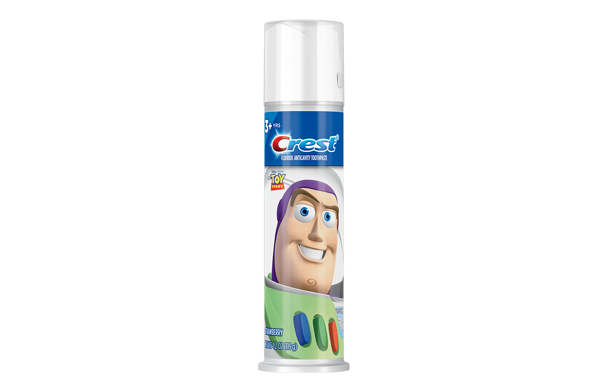 Kid's Toothpaste, featuring Disney Pixar Toy Story, Strawberry