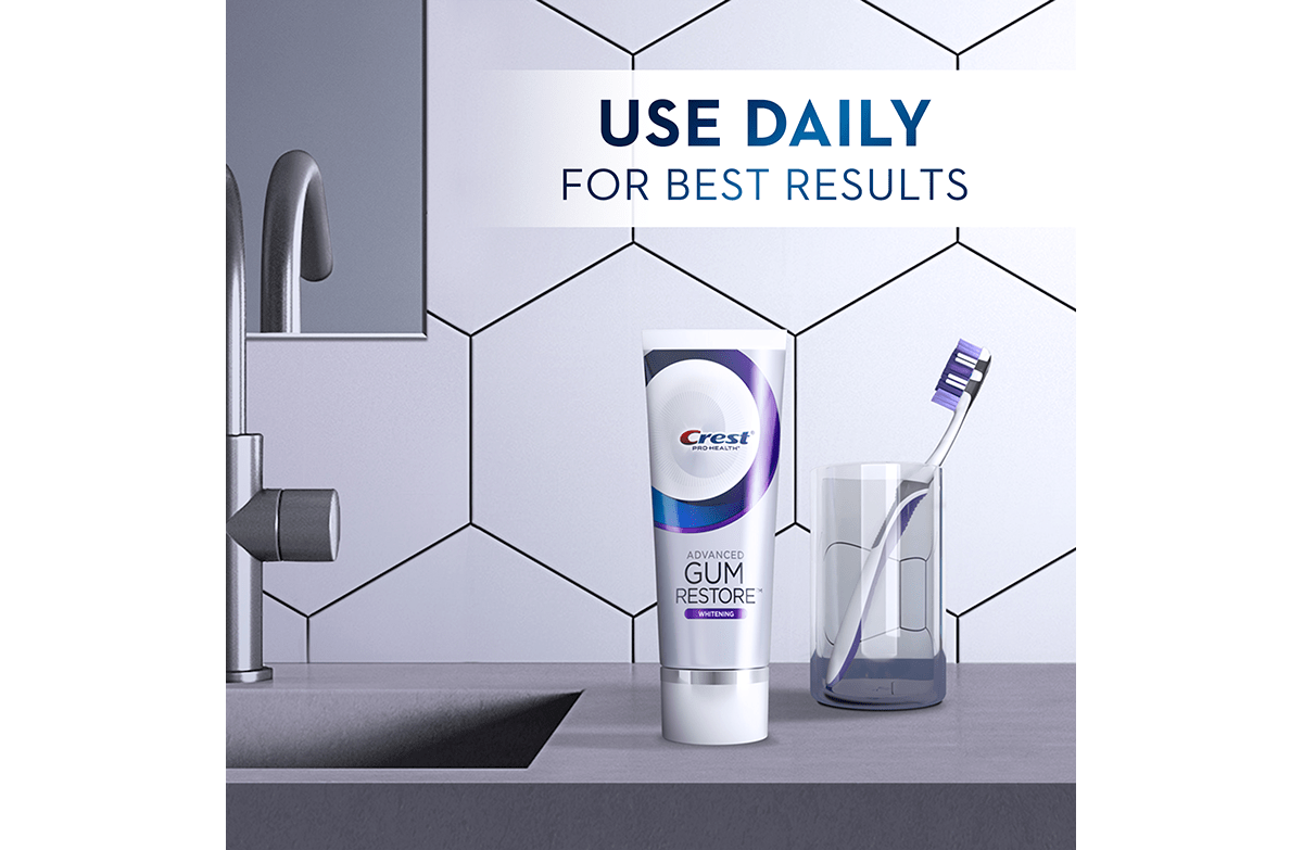Crest Pro-Health Deep Clean Use Daily Whitening