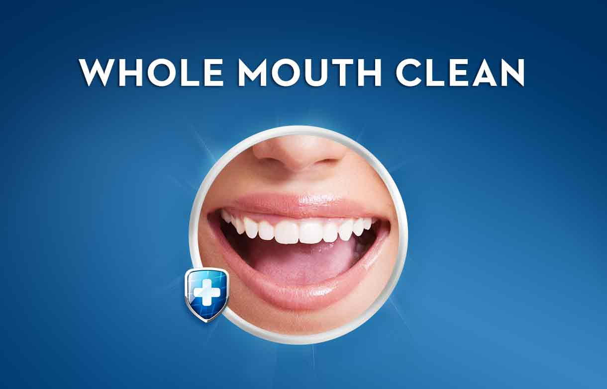 Crest Pro-Active Defense Whole Mouth Clean - Plaque Mouthwash