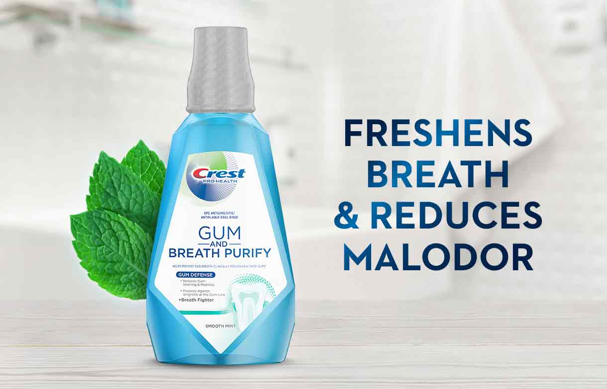 Crest Pro-Health Gum and Breath Purify