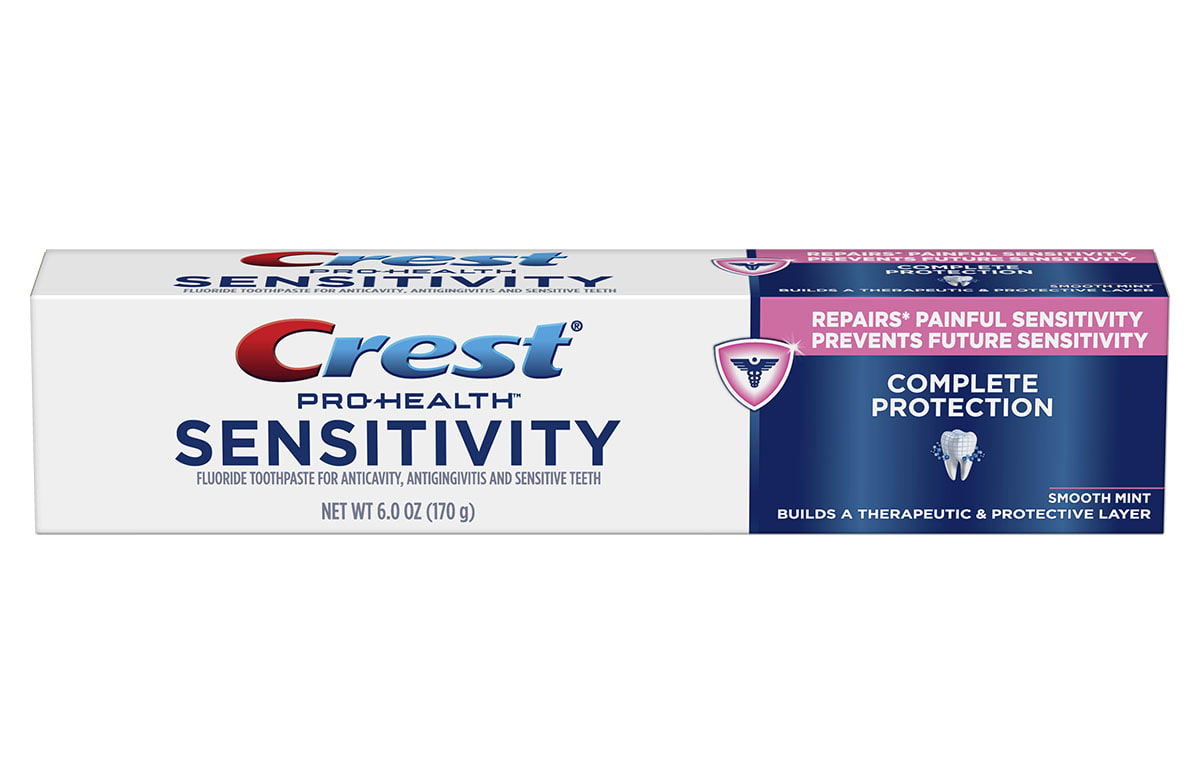 Crest Sensitivity Complete Protection Toothpaste Crest