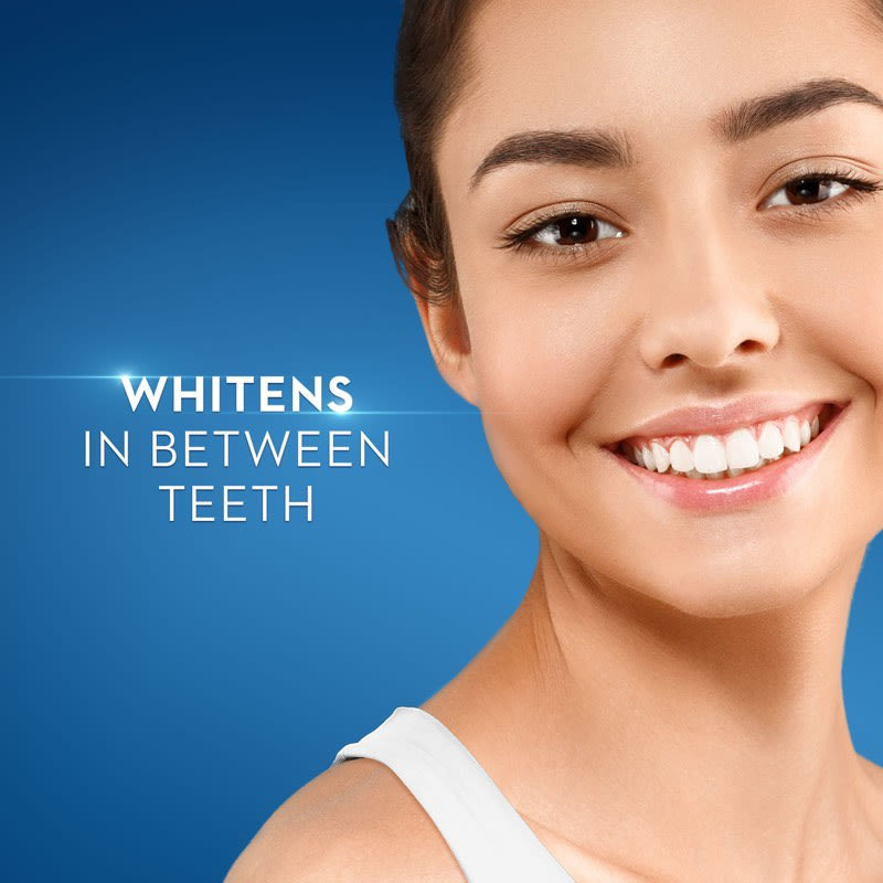 whitens between teeth