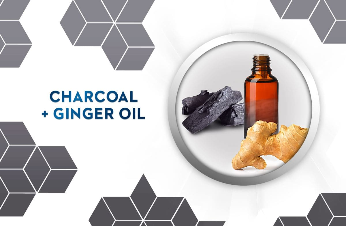 charcoal & ginger oil
