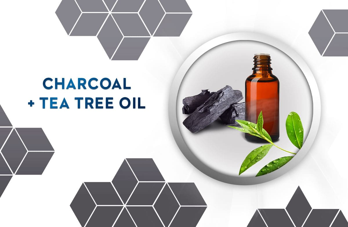 charcoal & tea tree oil