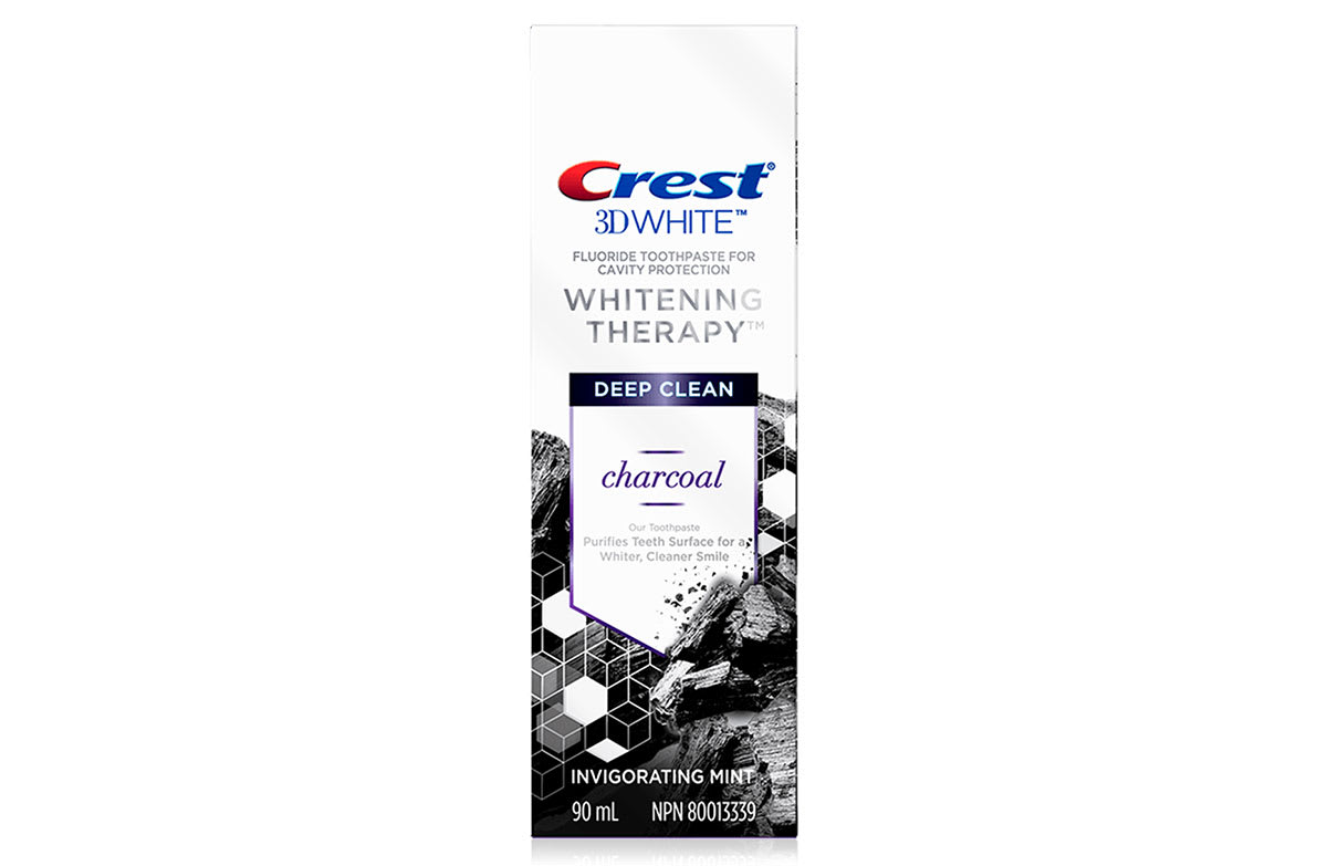 Crest 3d White Whitening Therapy Toothpaste Charcoal