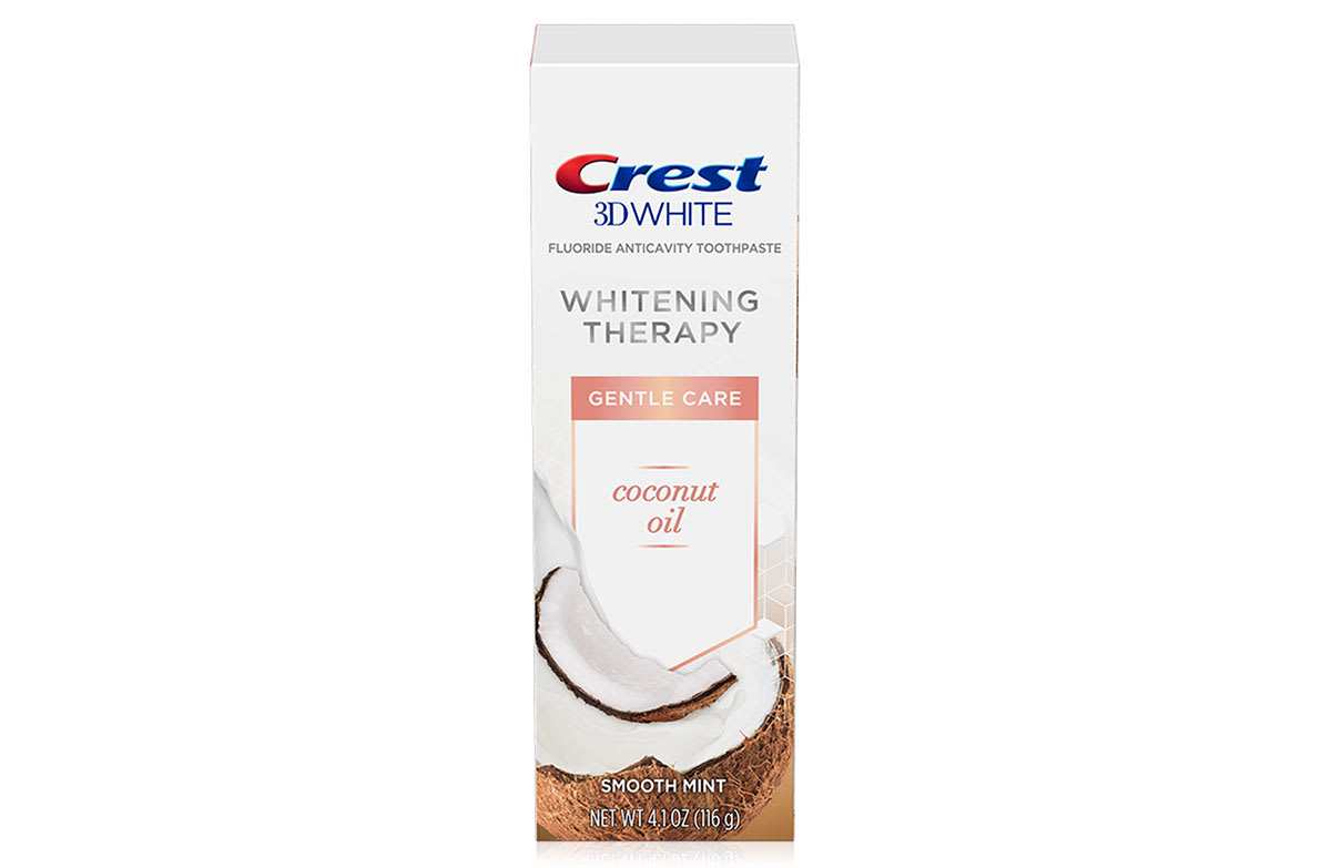 Crest 3d White Whitening Therapy Toothpaste Coconut Oil