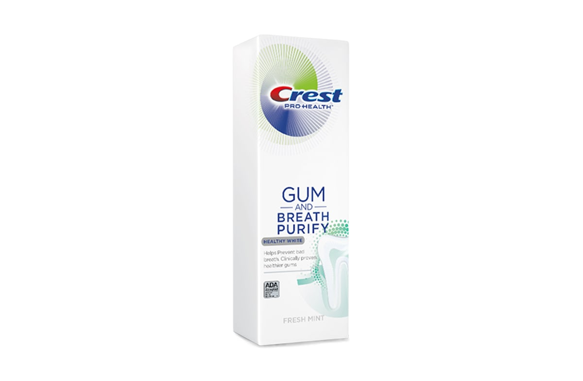 Gum and Breath Purify Healthy White
