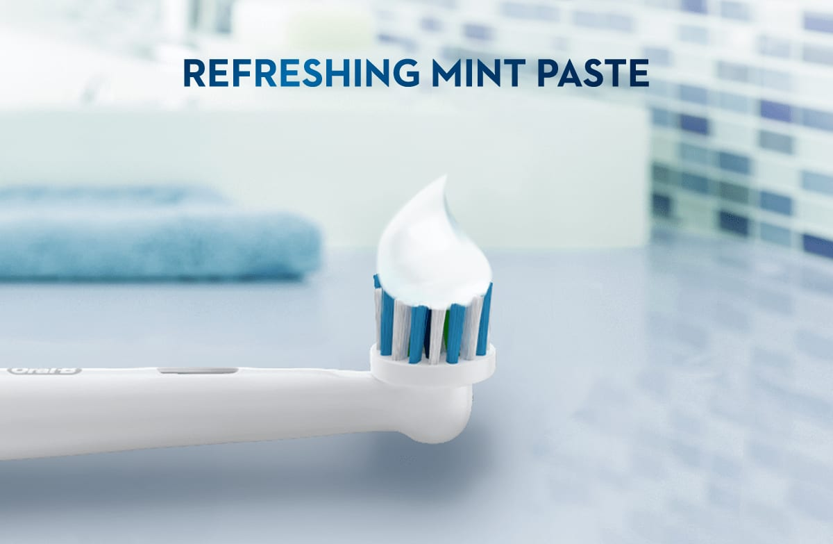 refreshing mint paste