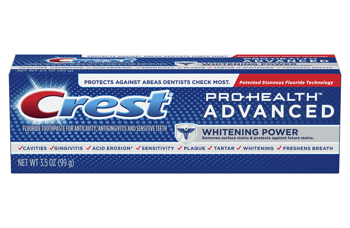 Crest Pro Health Advanced Whitening Power Toothpaste Crest