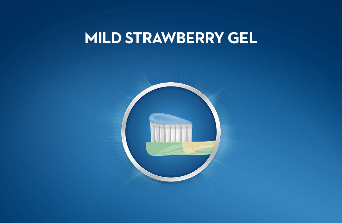 mild strawberry gel