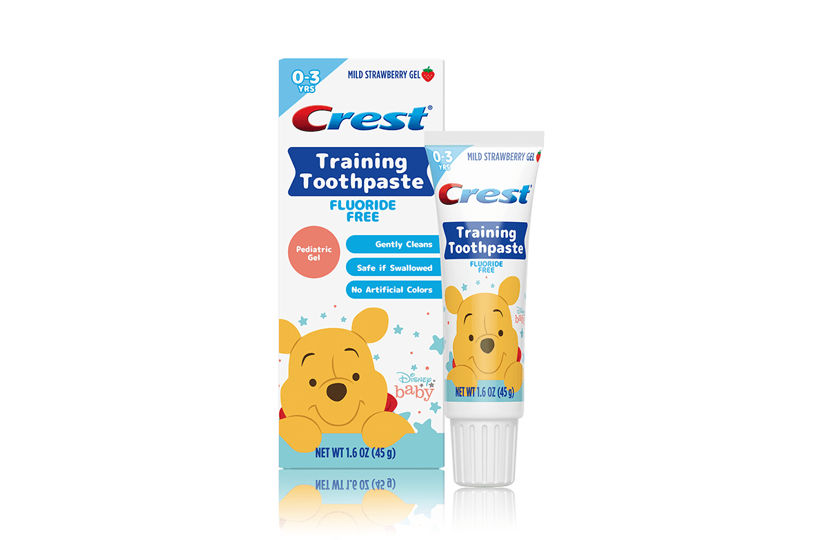 Training toothpaste