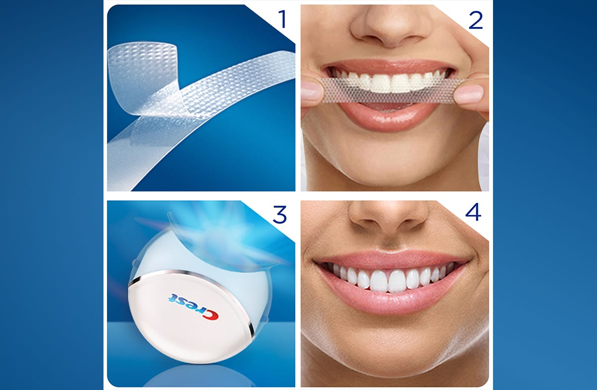 Crest 3d White Monthly Whitening Boost Whitestrips Crest