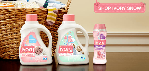 Baby Detergent And Laundry Products Ivory Snow