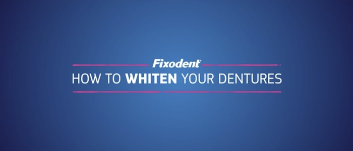 Advice on how to whiten your dentures