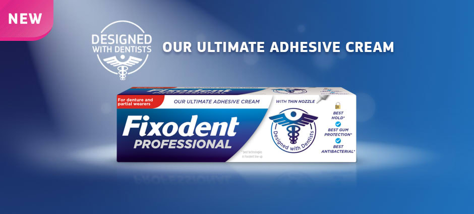 With Fixodent Microseal, there's no excuse not to dive in.