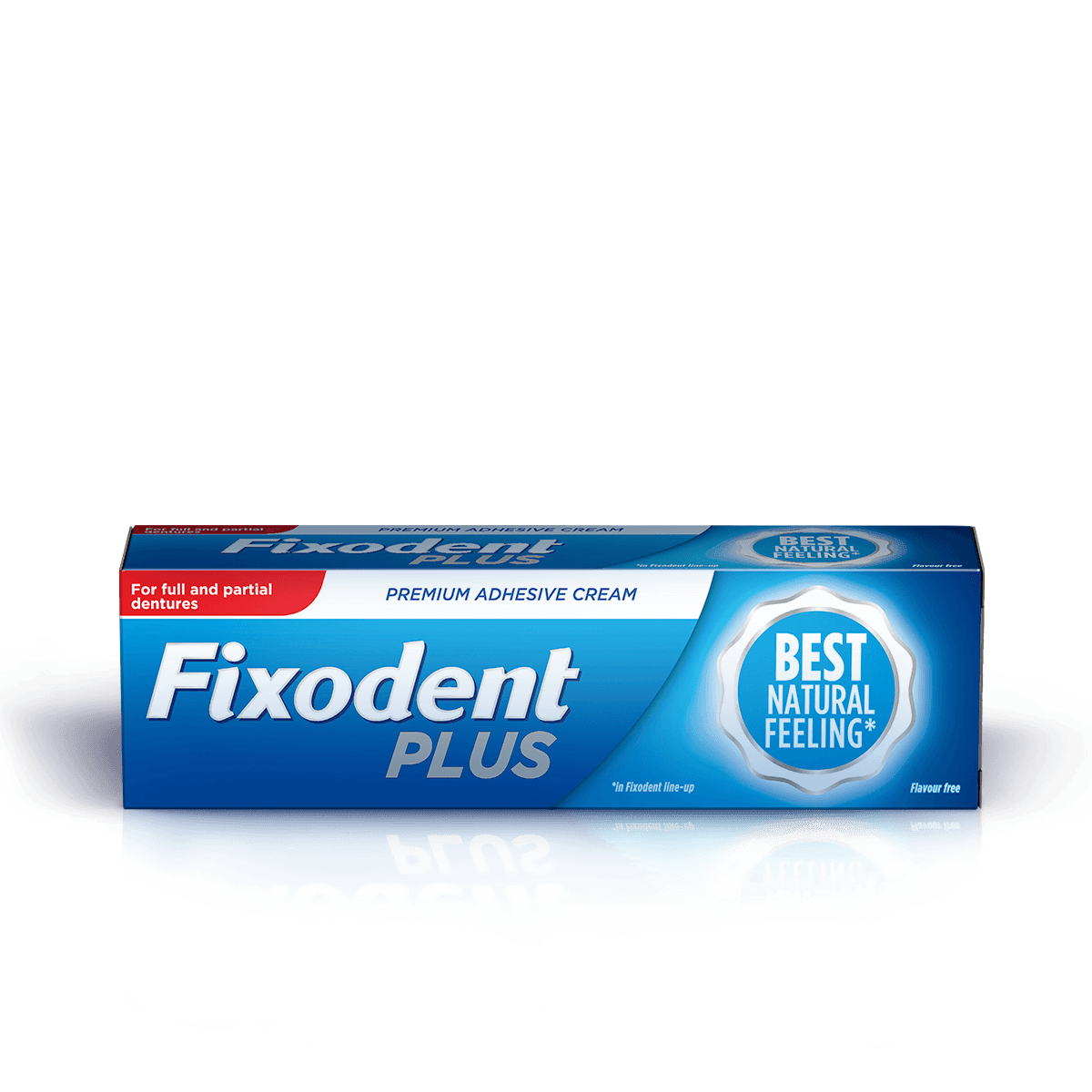 Fixodent Plus Best Natural Feeling Premium Denture Adhesive