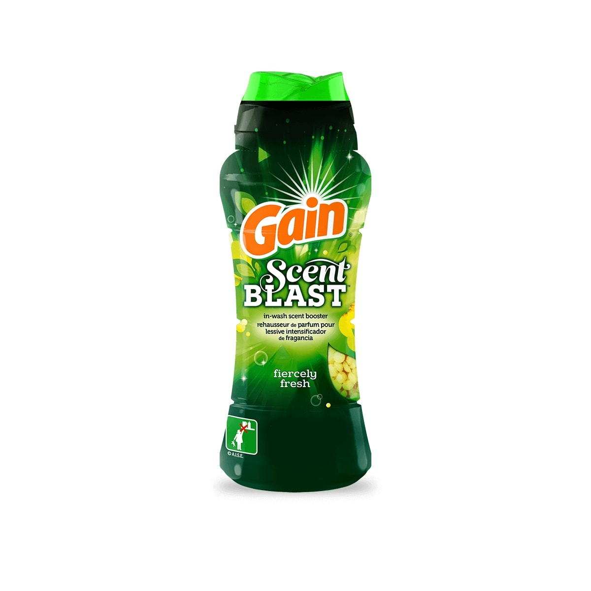 Gain Fiercely Fresh Fabric Softener package small