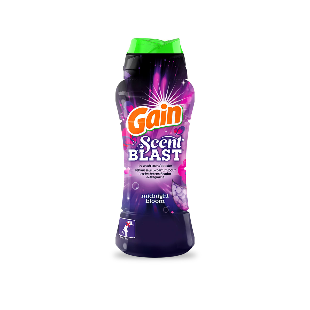 Gain Midnight Bloom Fireworks Scent Booster package small