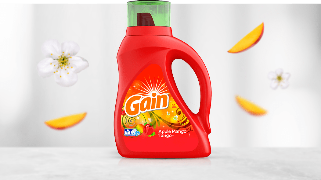 Gain Apple Mango Tango Liquid Laundry Detergent