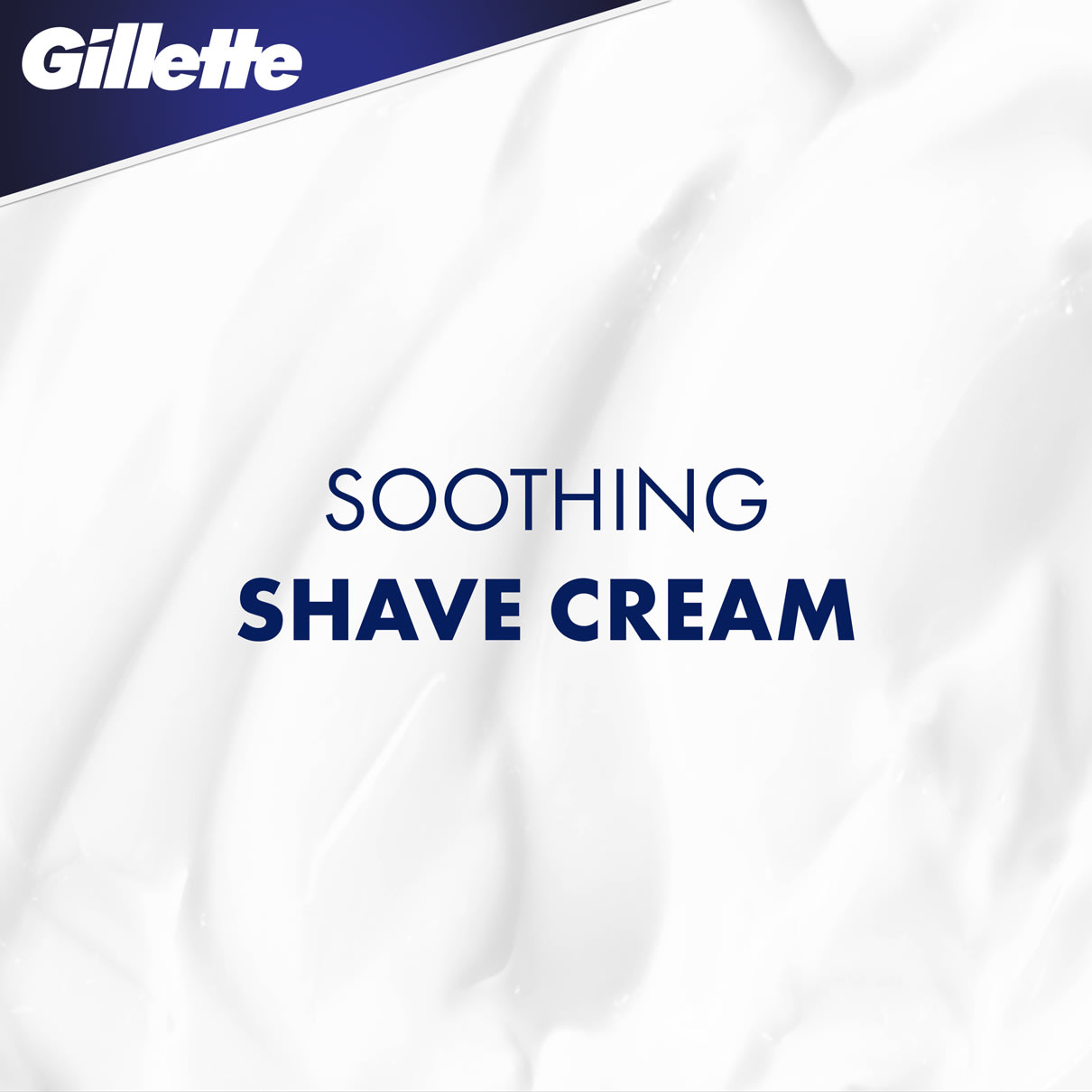 PURE by Gillette® SOOTHING SHAVE CREAM WITH ALOE