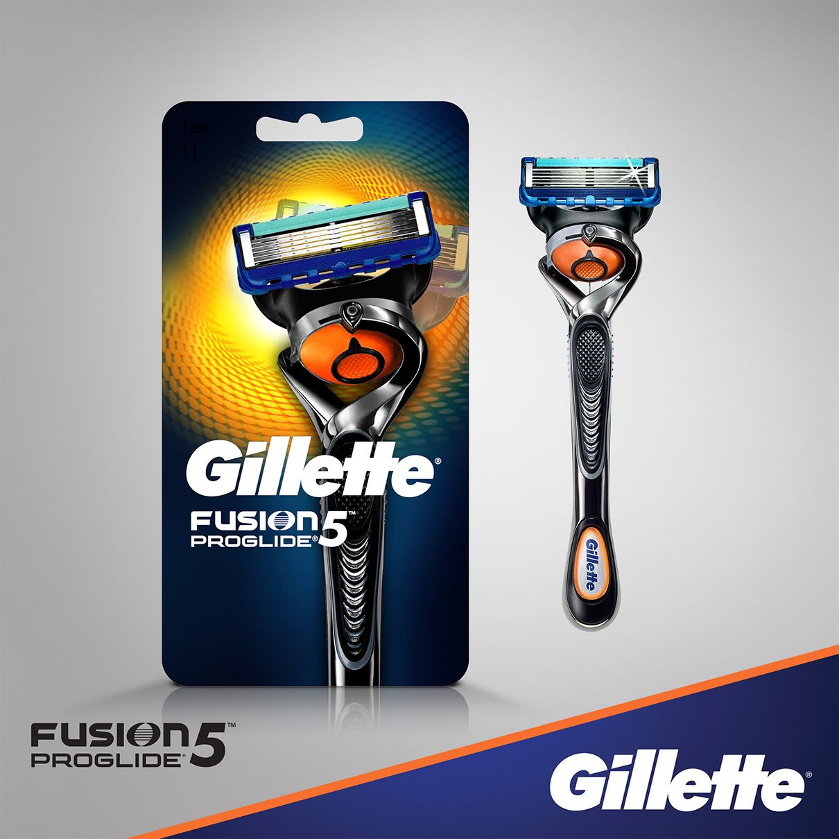 Gillette® Fusion5™ ProGlide® Manual Razor with Flexball™ Technology