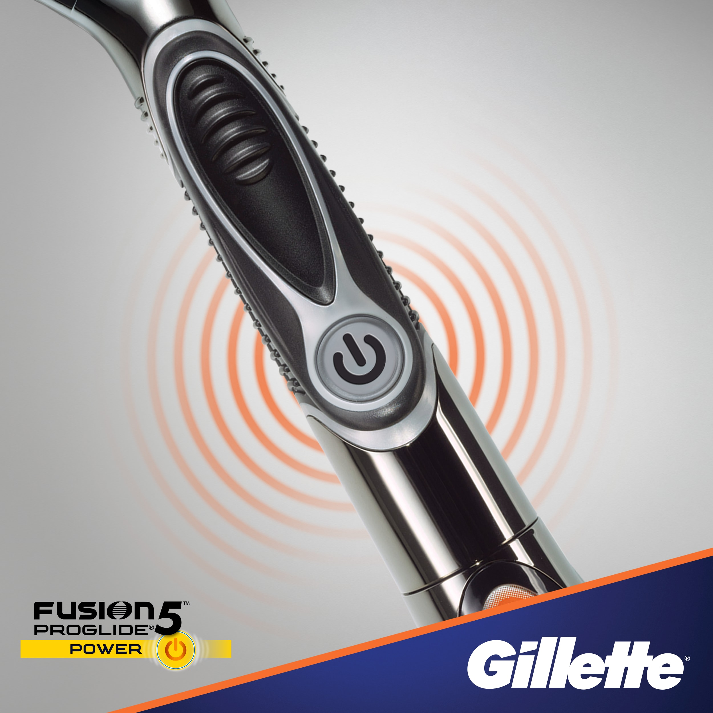 Gillette® Fusion5™ ProGlide® Power Razor with Flexball™ Technology