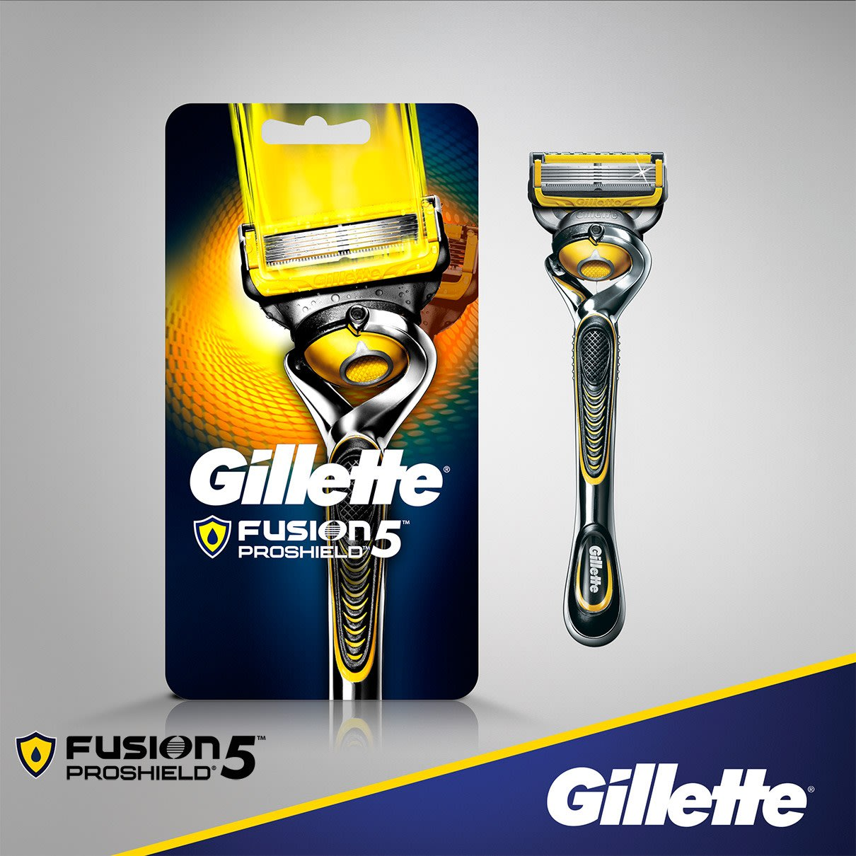 Gillette® Fusion5™ ProShield Razor with Flexball™ Technology