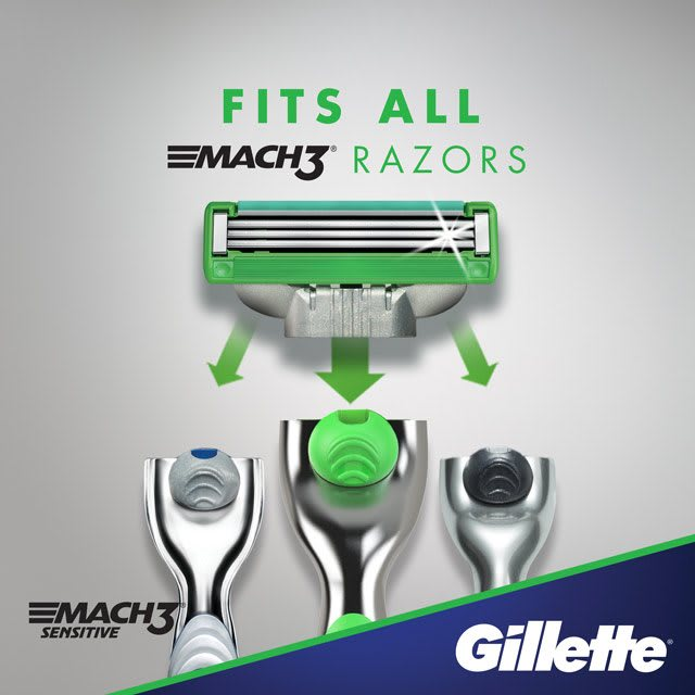 Engineered for 15 comfortable shaves