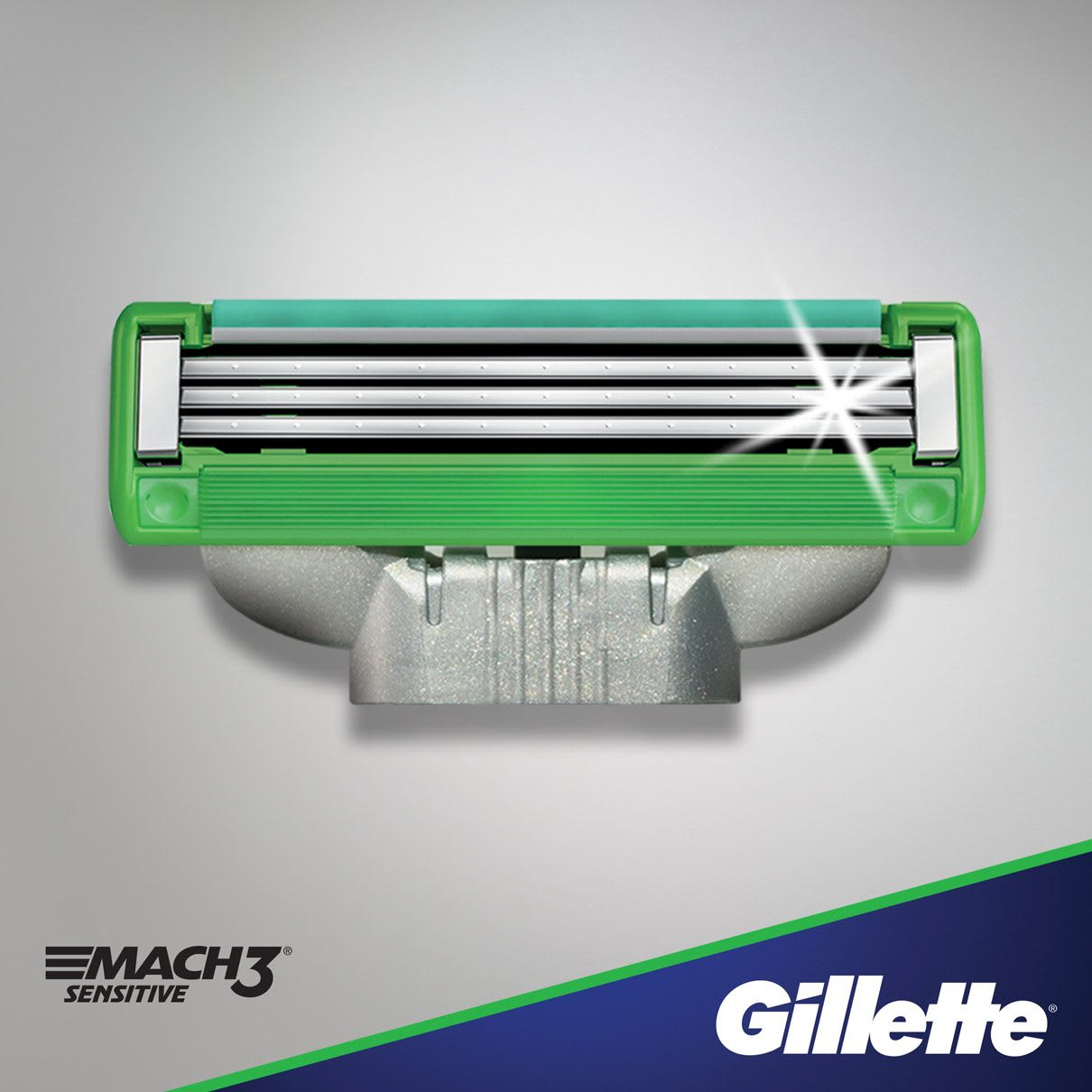 Gillette® MACH3 Sensitive Razor Blades